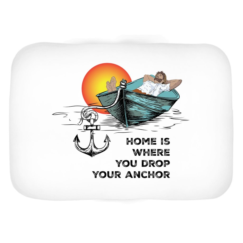 Bath Mat - Home is where you drop your anchor Collection