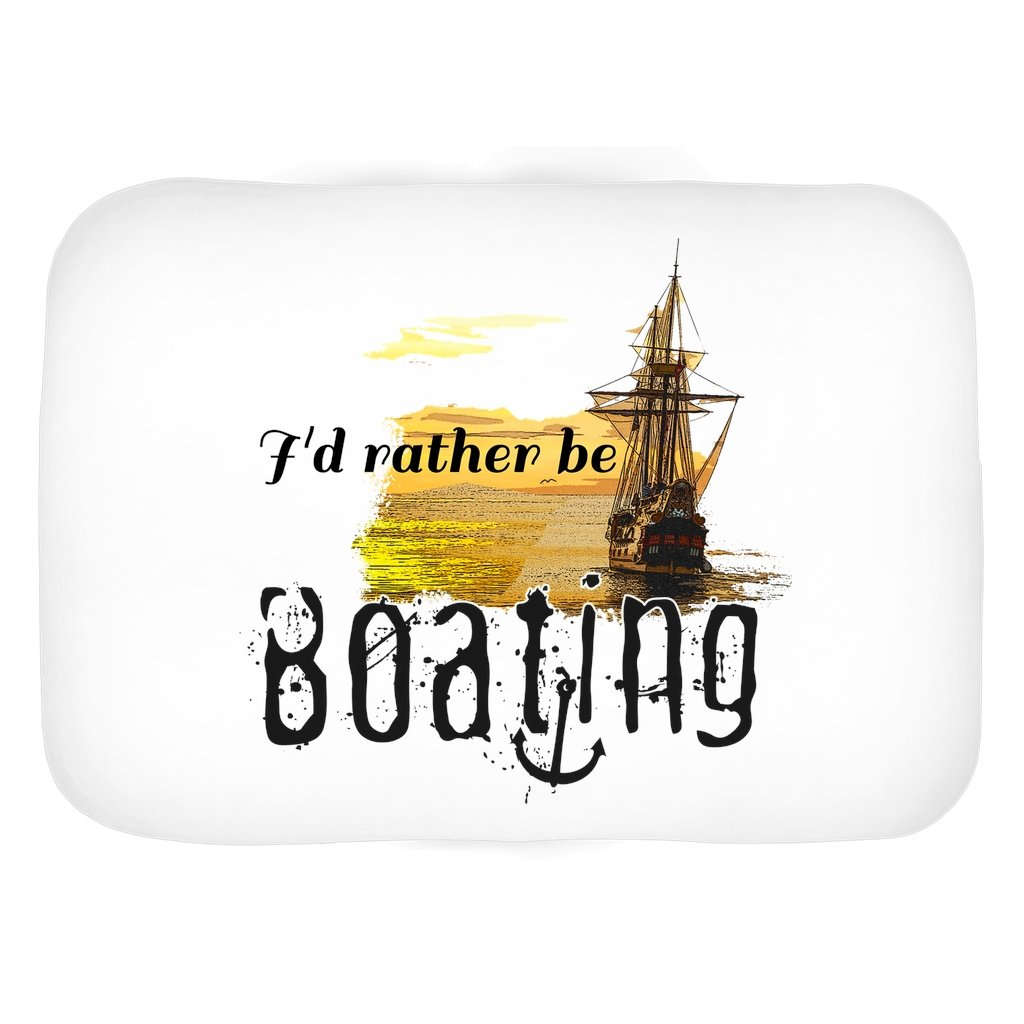 Bath Mat - I'd rather be boating Collection - SVlovers