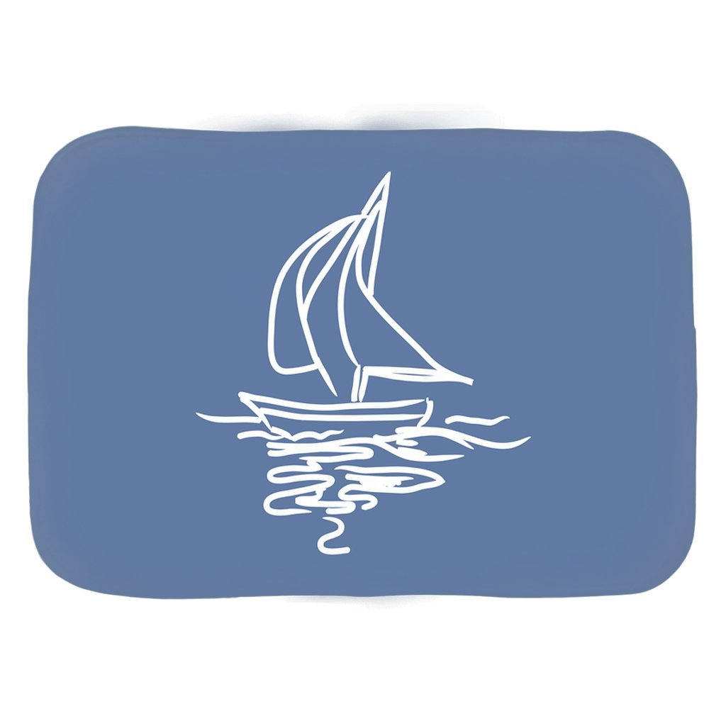 Bath Mat - My Boat Collection (Blue) - SVlovers