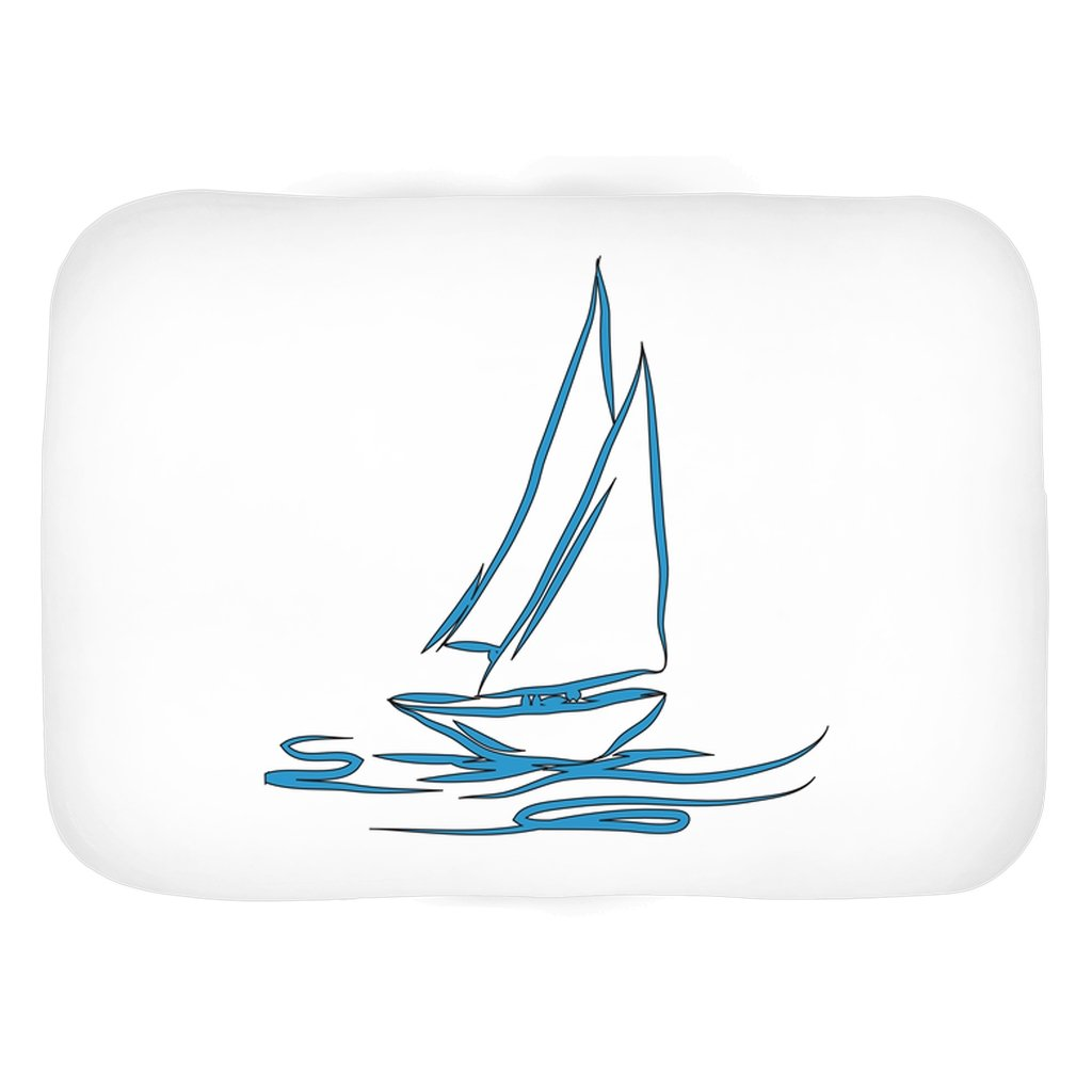 Bath Mat - My Boat Collection (White) - SVlovers