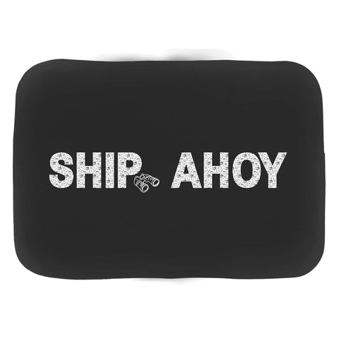 Bath Mat - Ship Ahoy! Collection (Black) - SVlovers