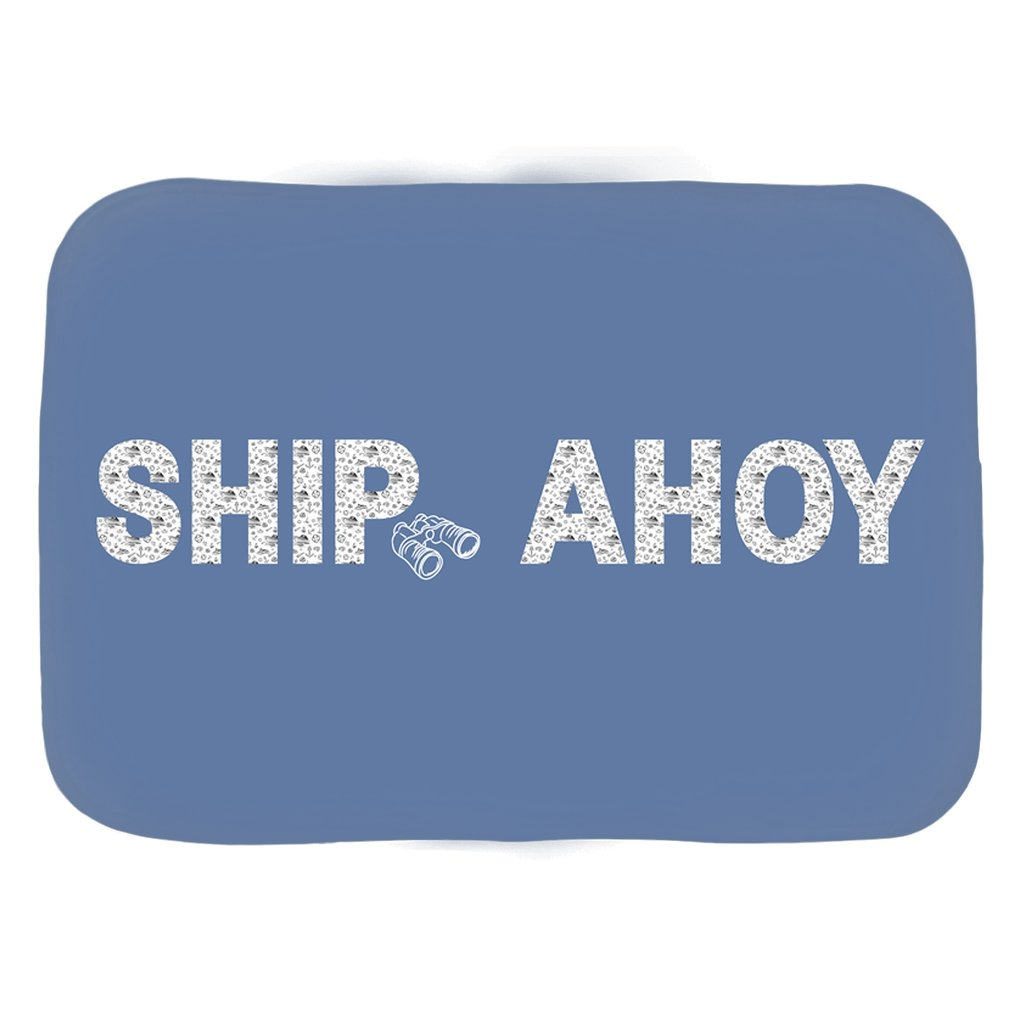 Bath Mat - Ship Ahoy! Collection (Blue) - SVlovers