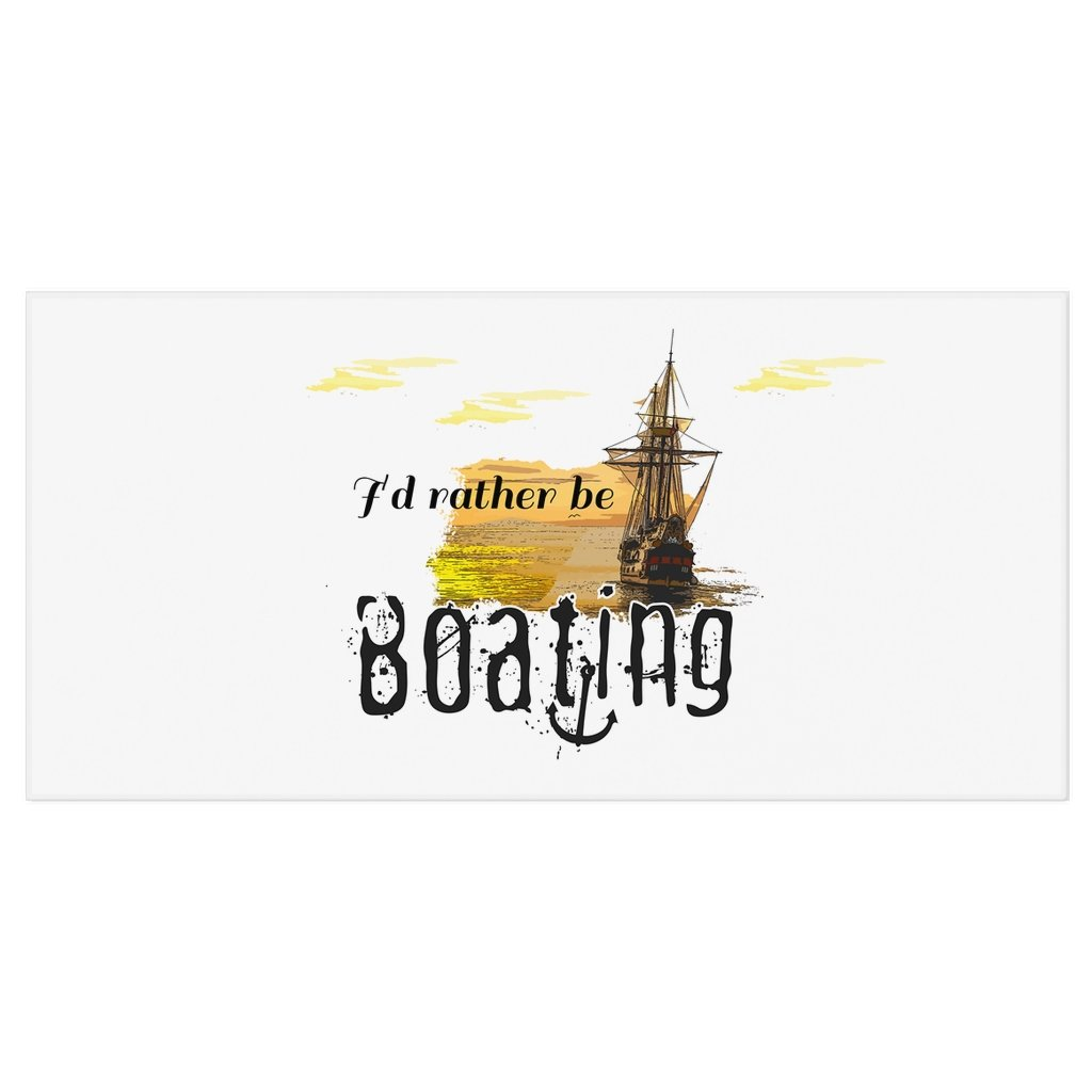 Bath Towel - I'd rather be boating Collection - SVlovers