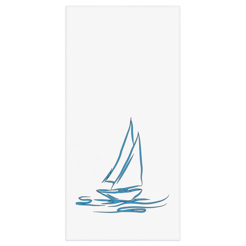 Bath Towel - My Boat Collection (White) - SVlovers