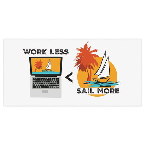 Bath Towel - Work Less-Sail More Collection - SVlovers