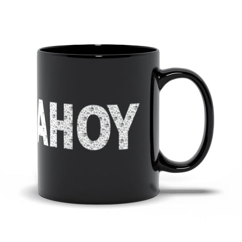 Black Mug - Ship Ahoy! Collection - SVlovers