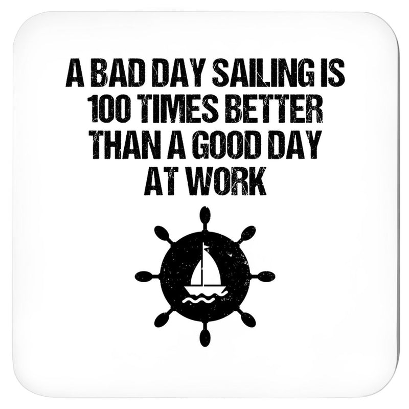 Coasters - A good day sailing Collection (Black & White) - SVlovers
