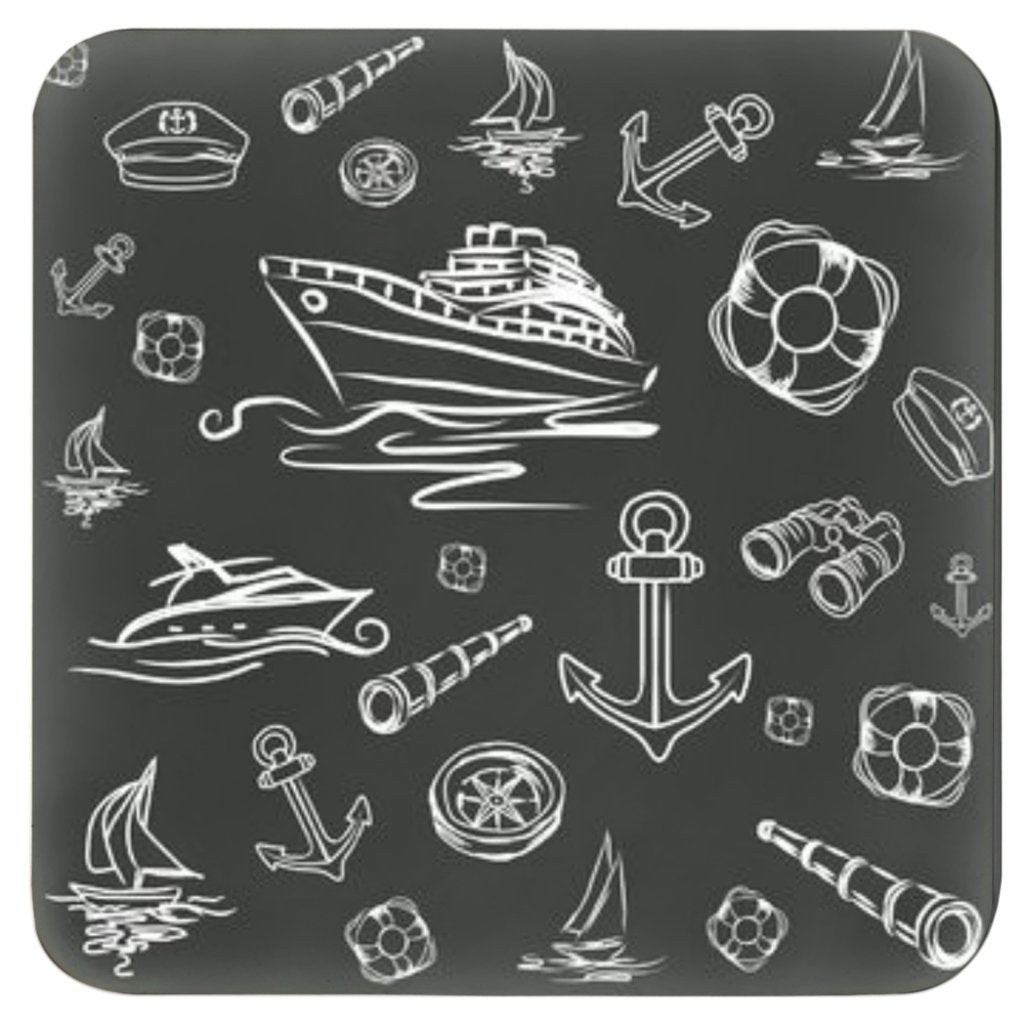 Coasters - Black & White mix Sailing World Collection - SVlovers