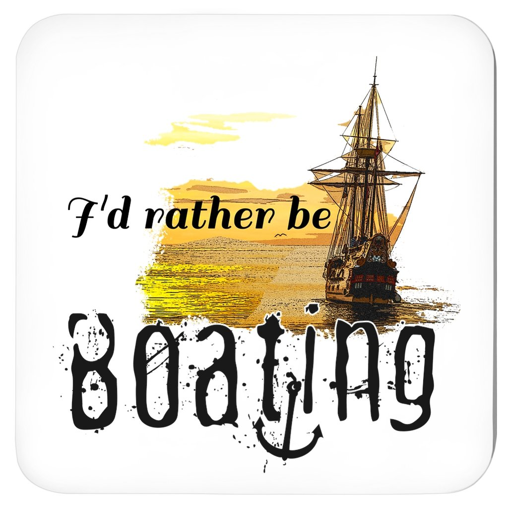 Coasters - I'd rather be boating Collection