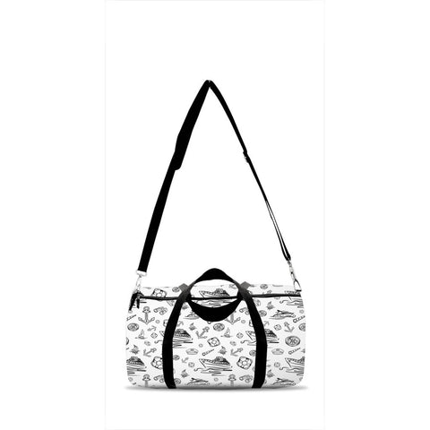Duffle Bag - White Sailing World Collection - SVlovers