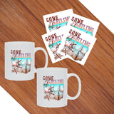 Gone Sailing Collection - Mugs & Coasters Set - SVlovers