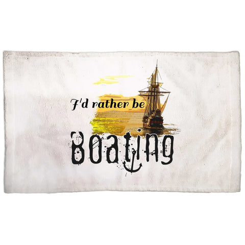 Hand Towel - I'd rather be boating Collection - SVlovers
