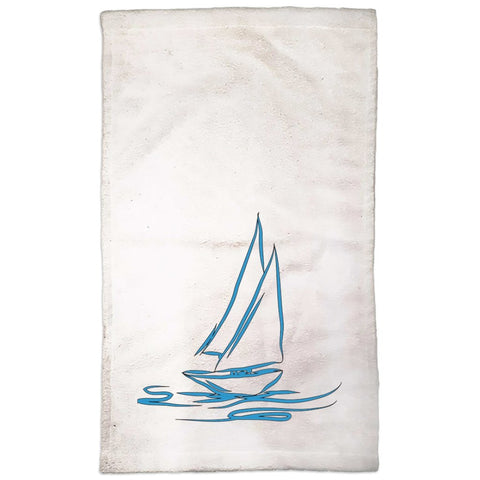 Hand Towel - My Boat Collection (White) - SVlovers