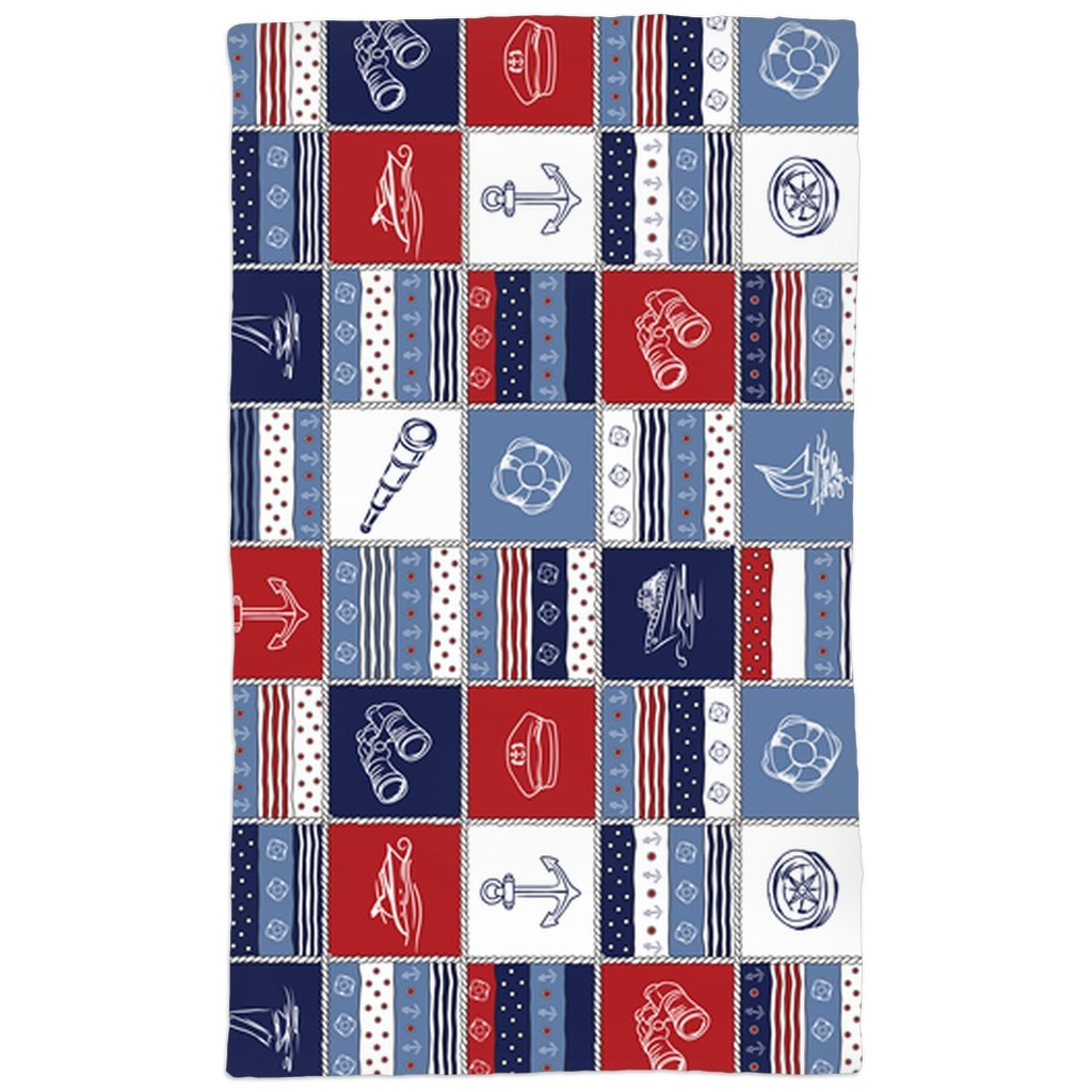 Hand Towel - Quilt Sea Collection - SVlovers