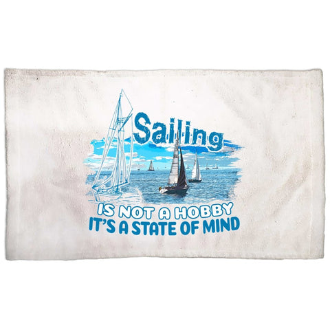 Hand Towel - Sailing is not a hobby Collection - SVlovers