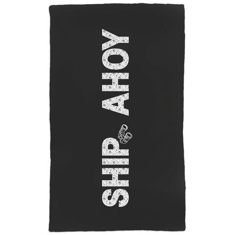 Hand Towel - Ship Ahoy! Collection (Black) - SVlovers