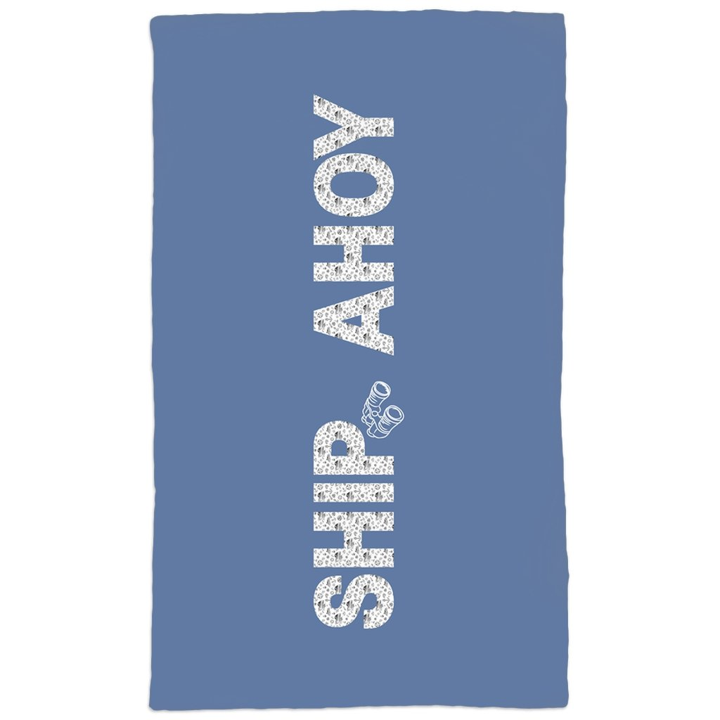 Hand Towel - Ship Ahoy! Collection (Blue) - SVlovers