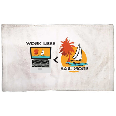 Hand Towel - Work Less-Sail More Collection - SVlovers