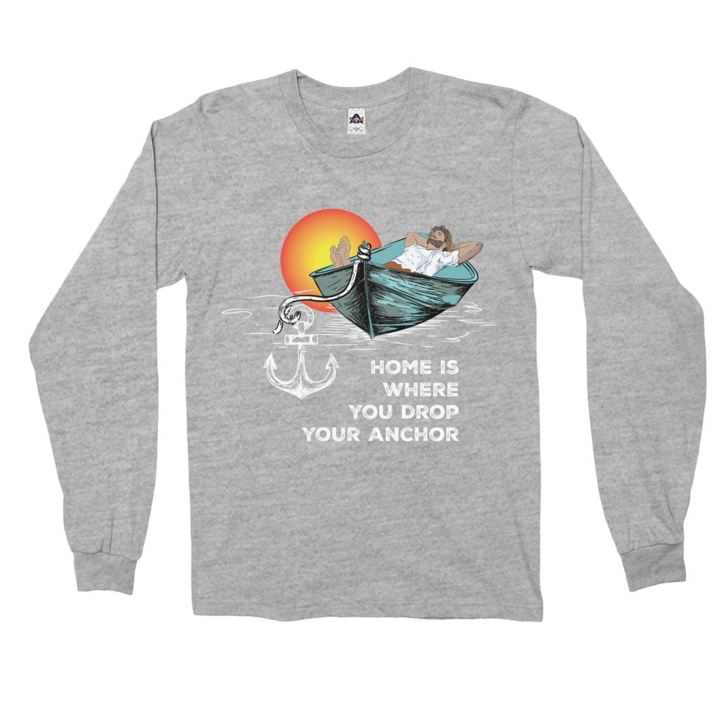 Long Sleeve Shirt - Home is where you drop your anchor Collection - SVlovers