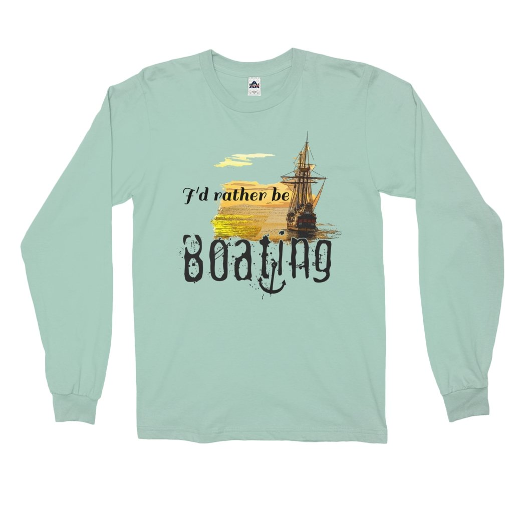 Long Sleeve Shirt - I'd rather be boating Collection - SVlovers