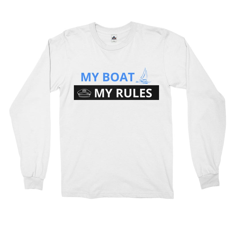 Long Sleeve Shirt - My boat-My Rules Collection - SVlovers