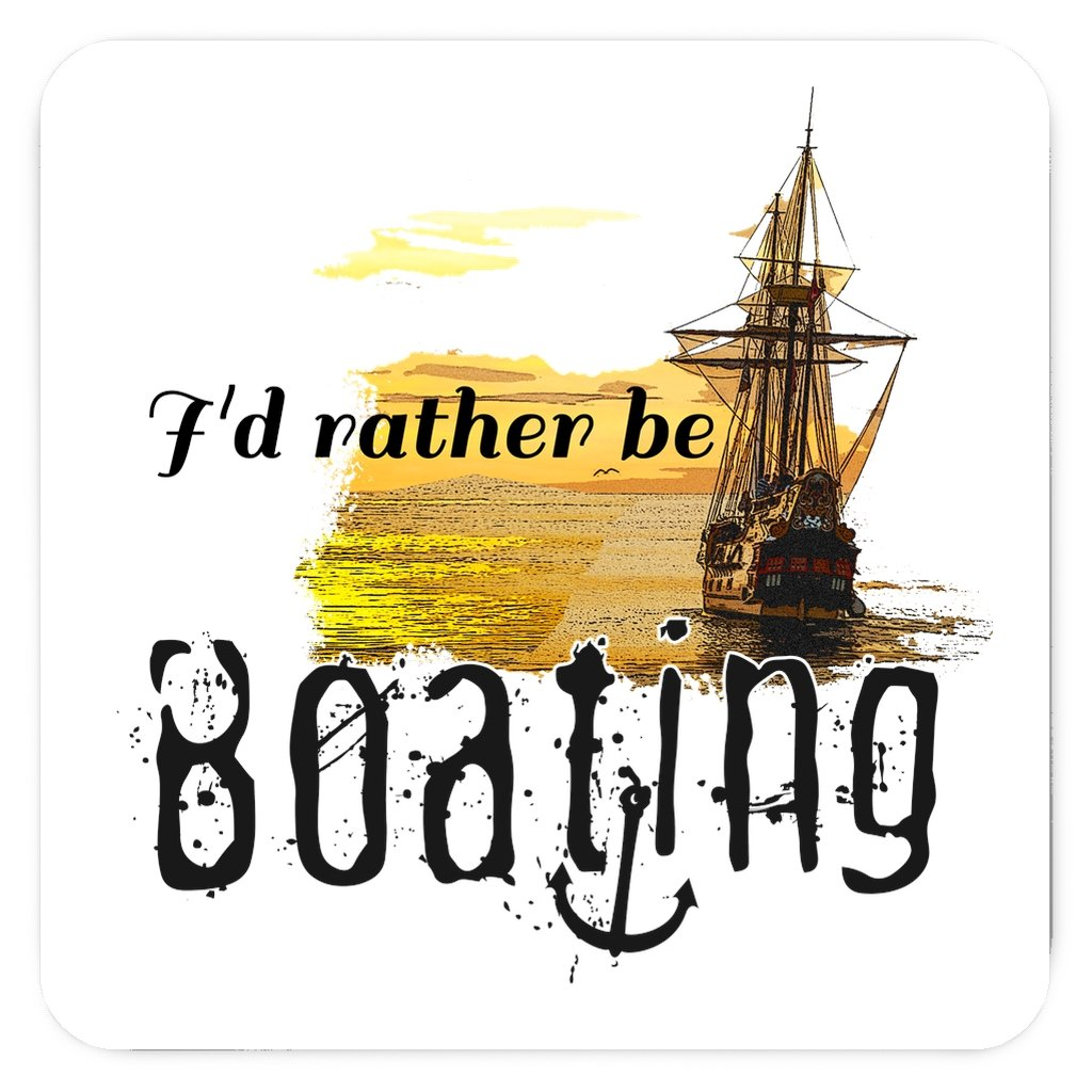 Magnet - I'd rather be boating Collection - SVlovers