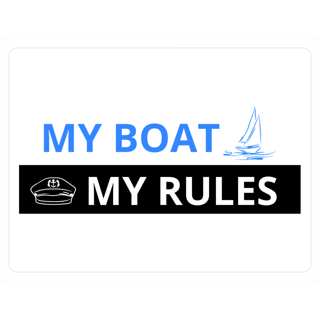 Magnet - My boat-My rules Collection - SVlovers