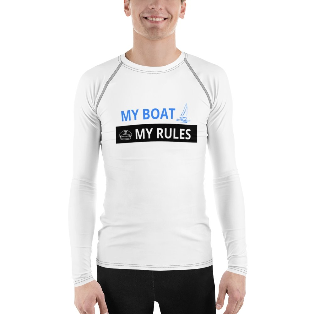 Men's Rash Guard - My boat-My rules Collection - SVlovers