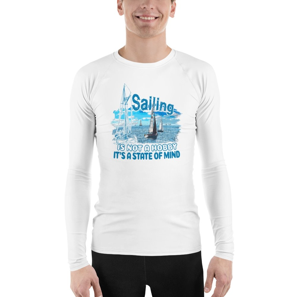 Men's Rash Guard - Sailing is not a hobby Collection - SVlovers