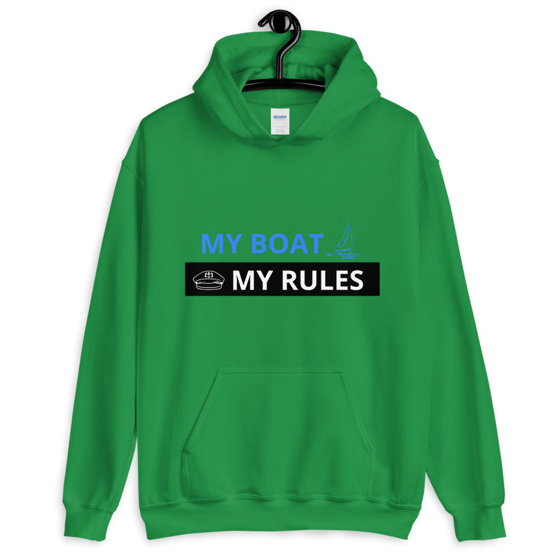 Unisex Hoodie - My boat-My rules Collection