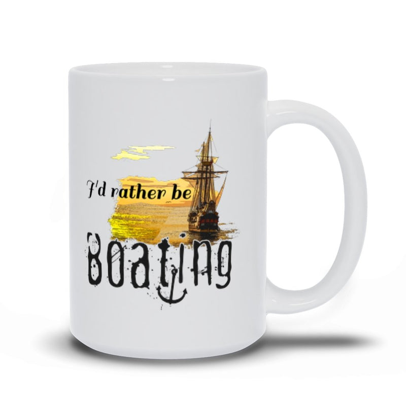 Mug - I'd rather be boating Collection - SVlovers