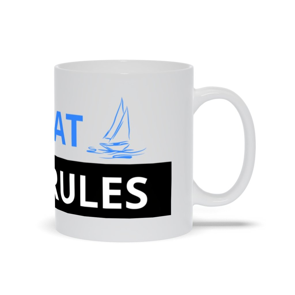 Mug - My Boat-My Rules Collection