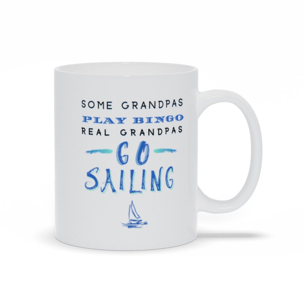 Mug - Sailing Grandpa - SVlovers