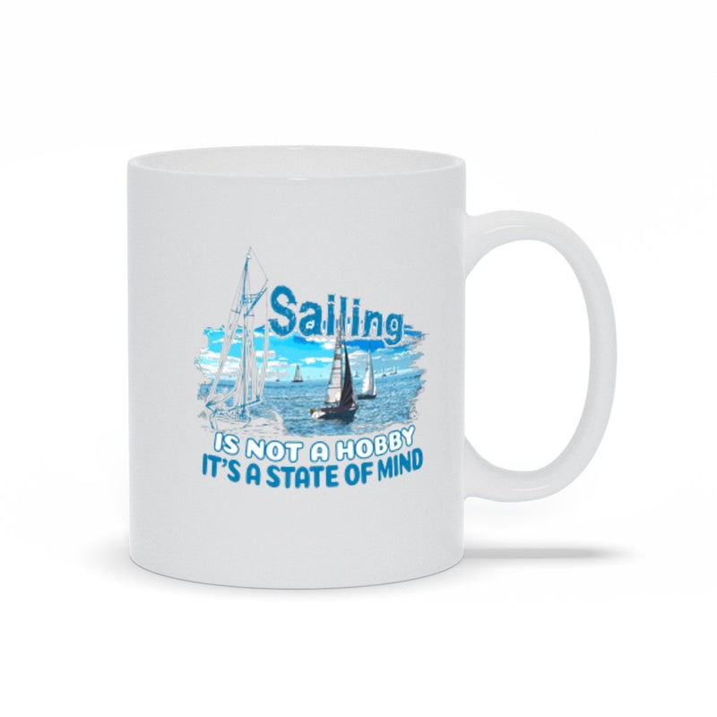 Mug - Sailing is not a hobby Collection - SVlovers