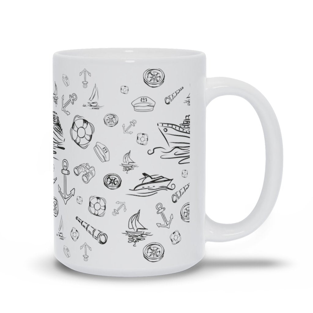 Mug - White Sailing World Collection - SVlovers