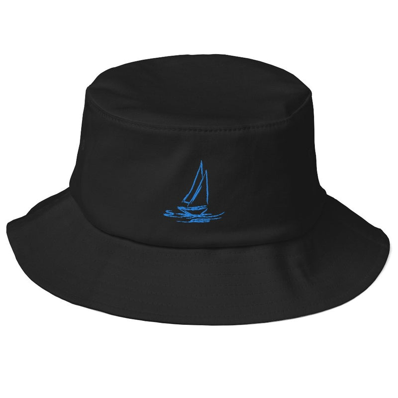 Old School Bucket Hat - My Boat Collection - SVlovers