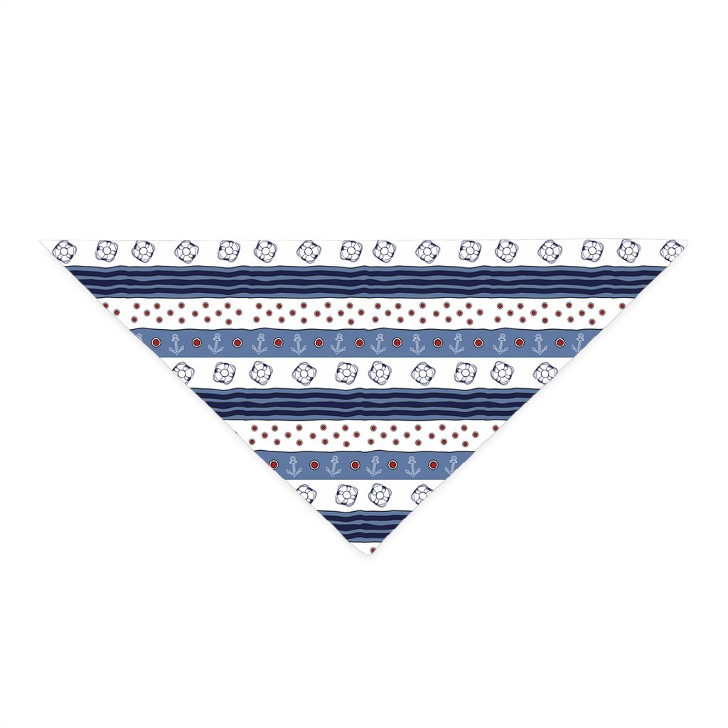 Pet Bandana - Blue-White Flag Collection - SVlovers