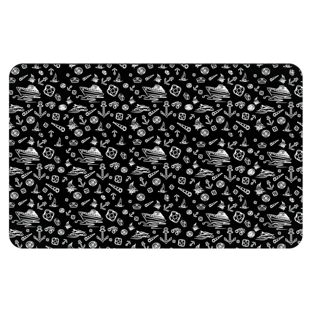 Pet Placemat - Black Sailing World Collection - SVlovers