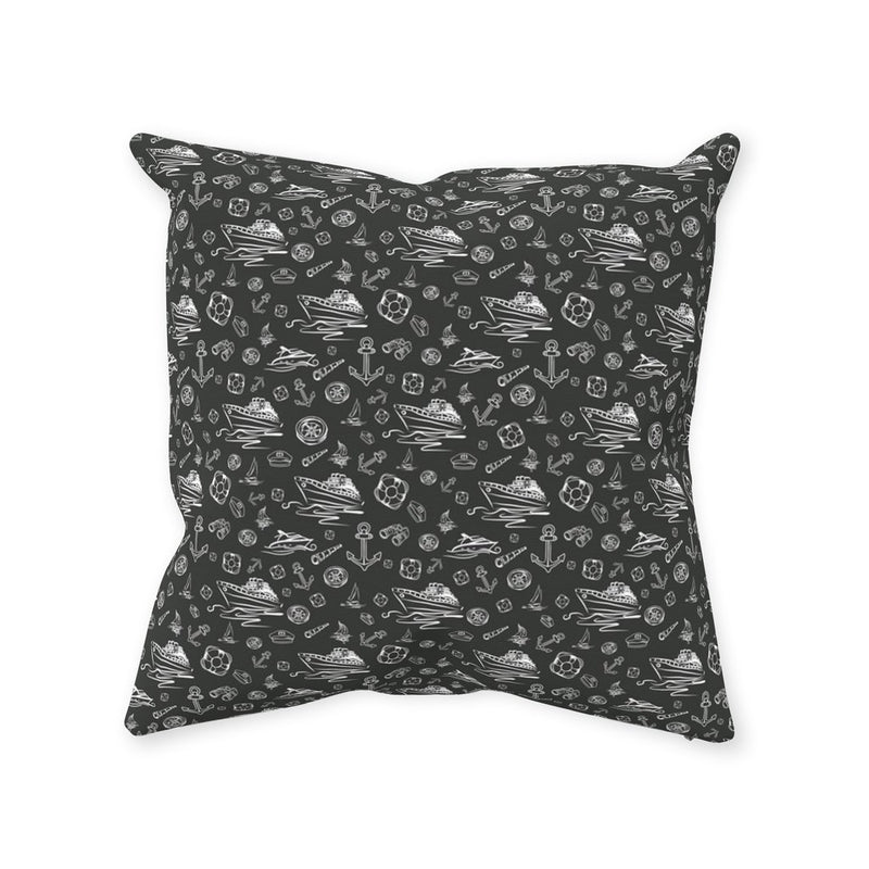 Pillow - Black Sailing World Collection - SVlovers