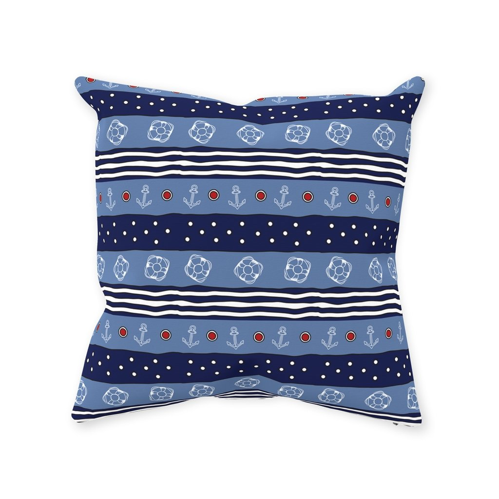 Pillow - Blue Water & Blue-White Flag Collections - SVlovers