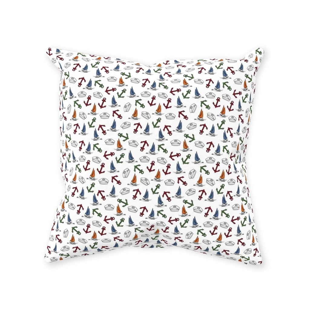 Pillow - Home is where your drop anchor & Colorful Sea Collections - SVlovers