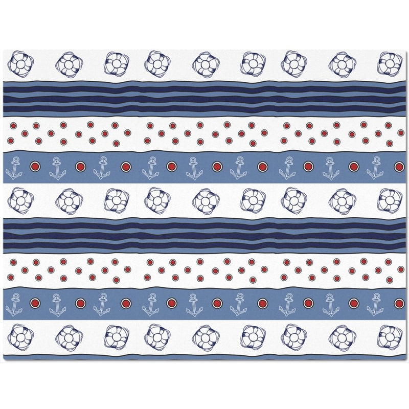 "Placemat - Blue-White Flag Collection - 8.5""x11"" - SVlovers"