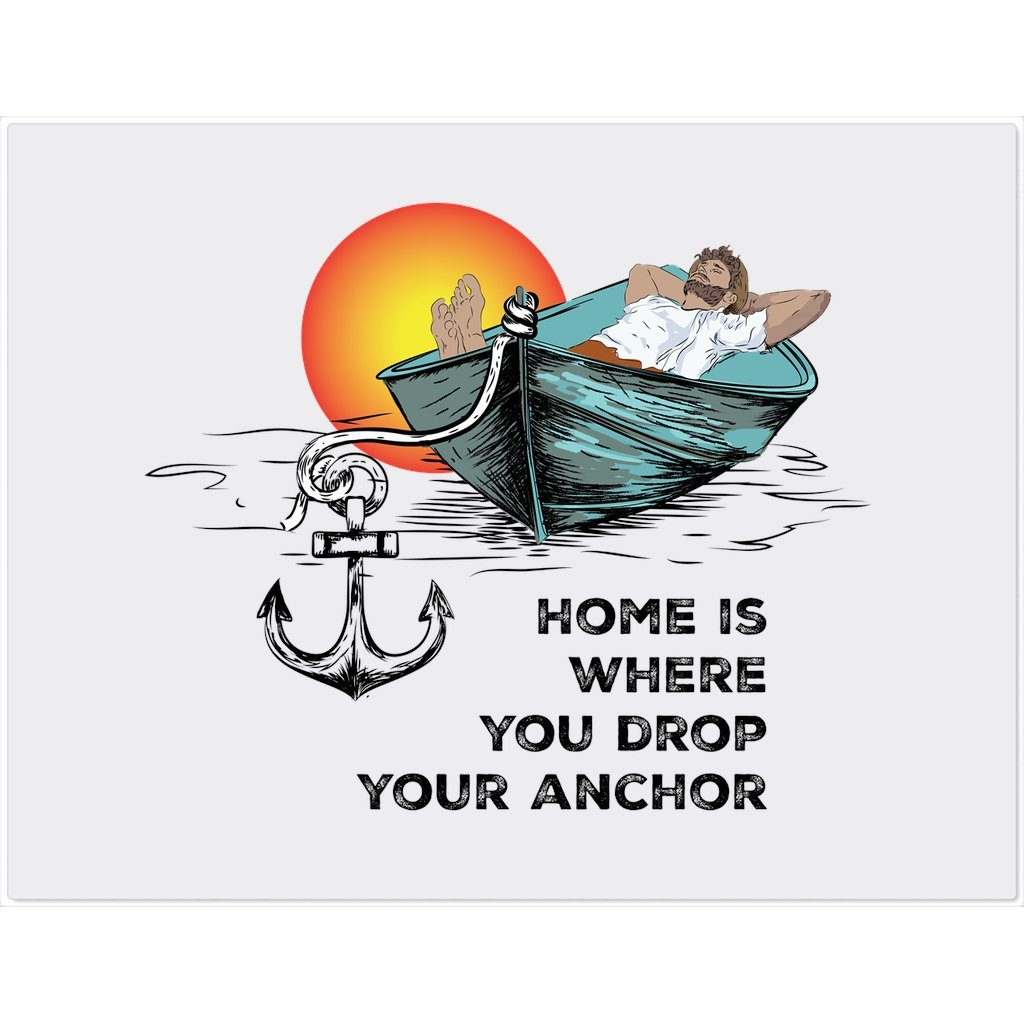 Placemat - Home is where you drop your anchor Collection