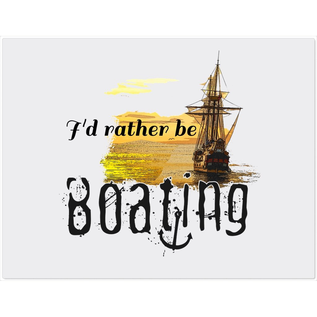 Placemat - I'd rather be boating Collection - SVlovers