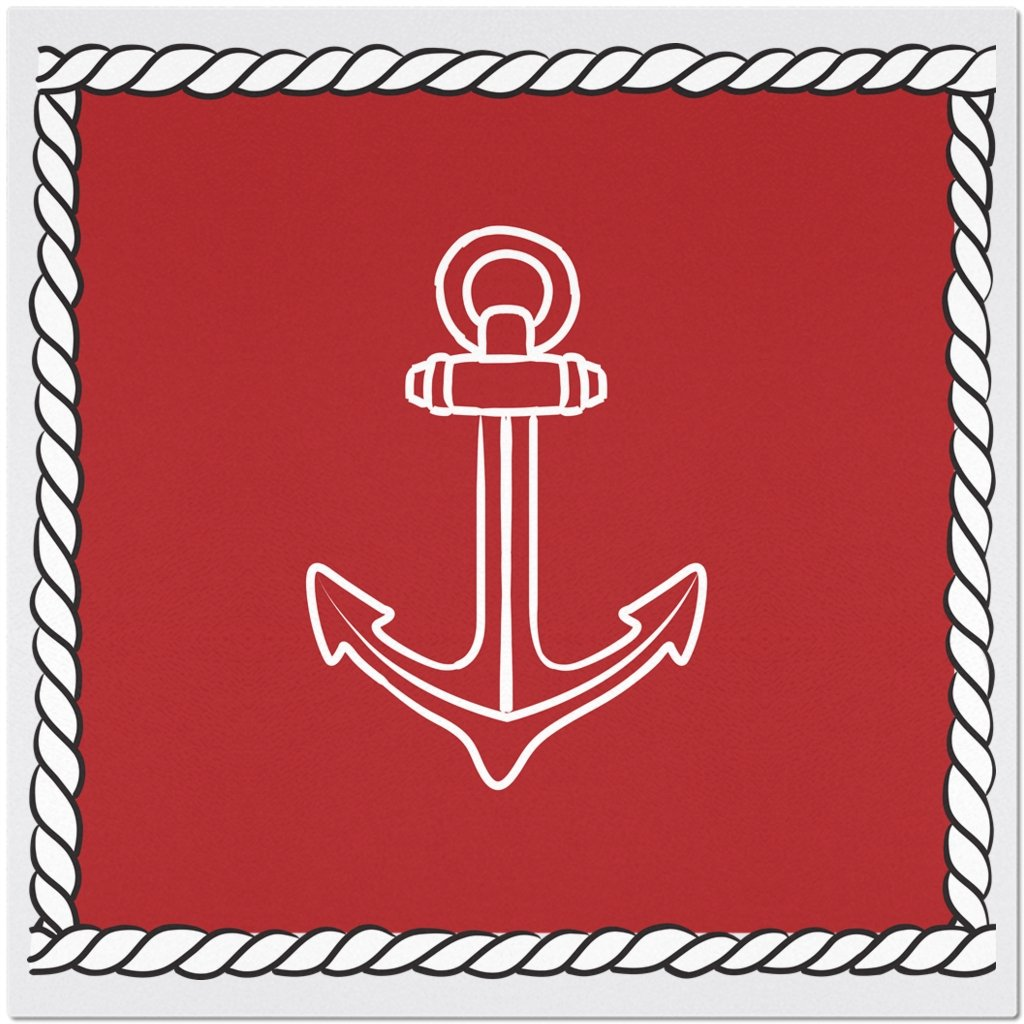 Placemat - My Anchor Collection (Red) - SVlovers