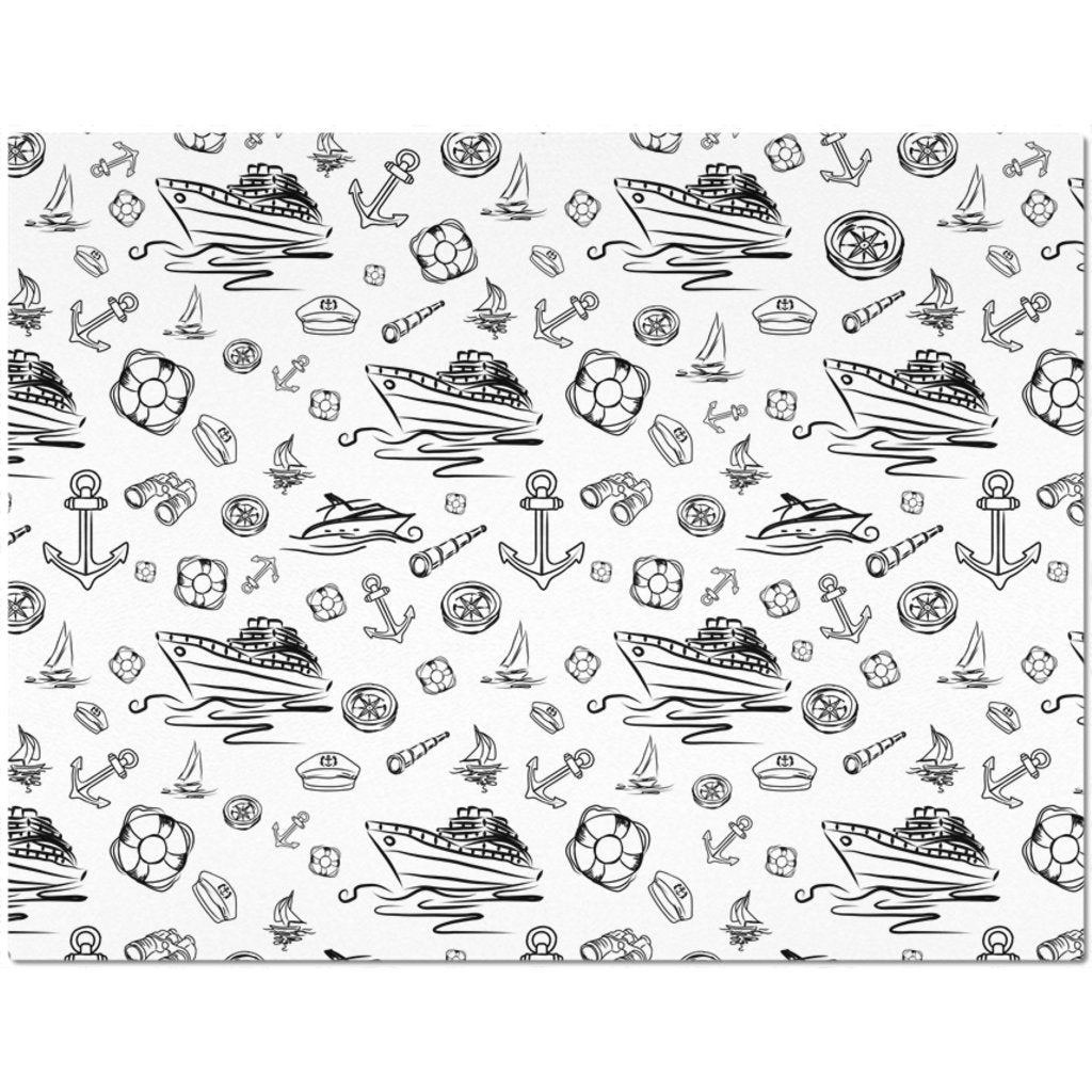Placemat - White Sailing World Collection - SVlovers