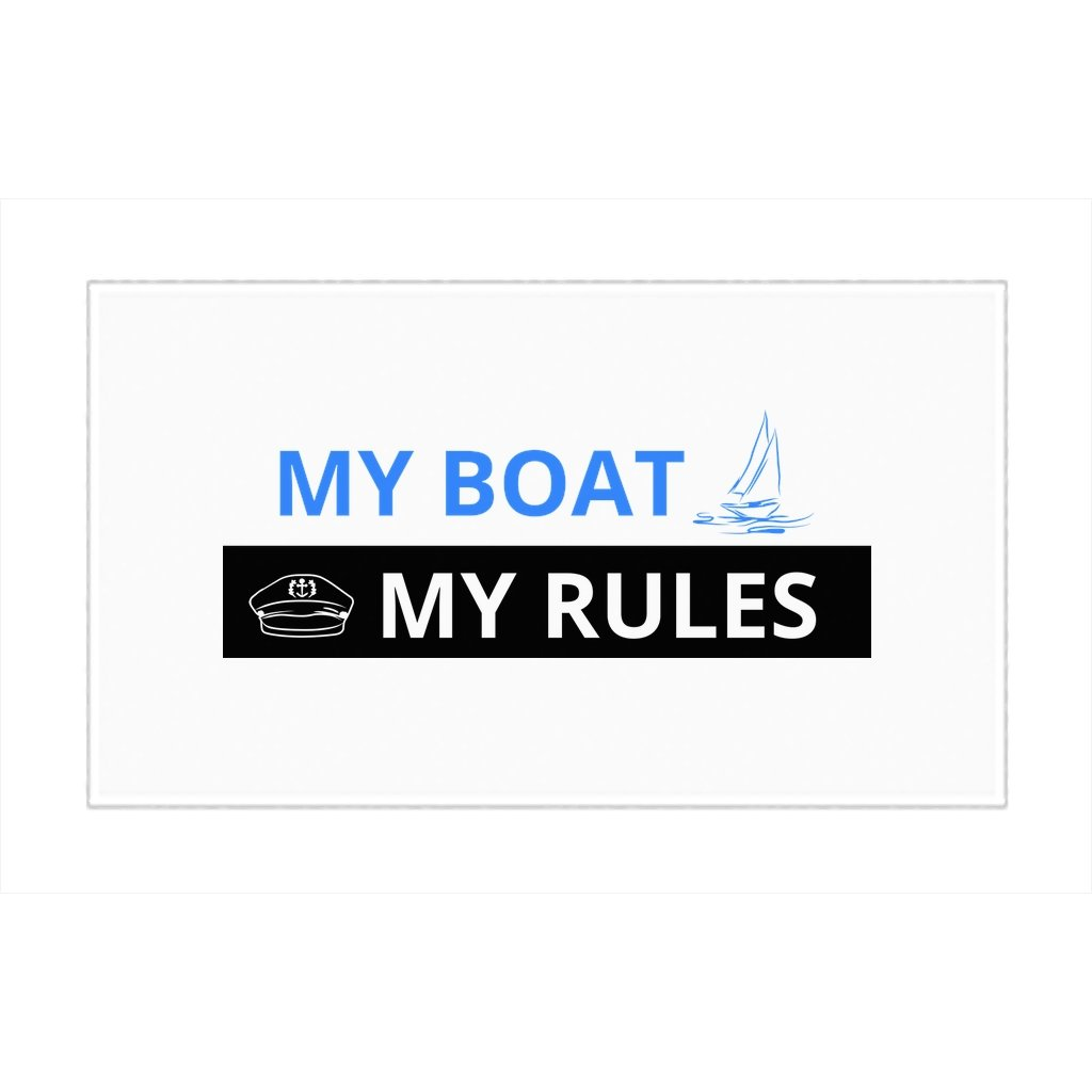 Rug - My boat-My rules Collection - SVlovers