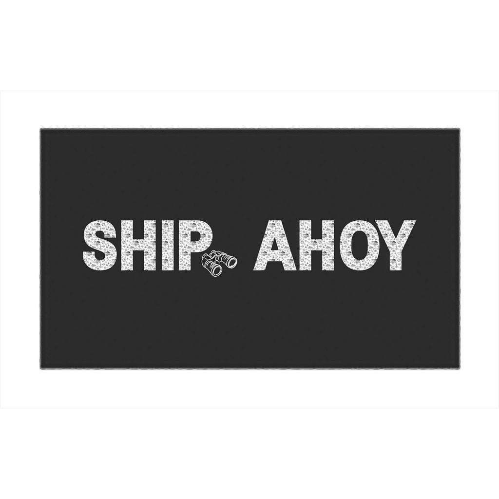Rug - Ship Ahoy! Collection (Black) - SVlovers