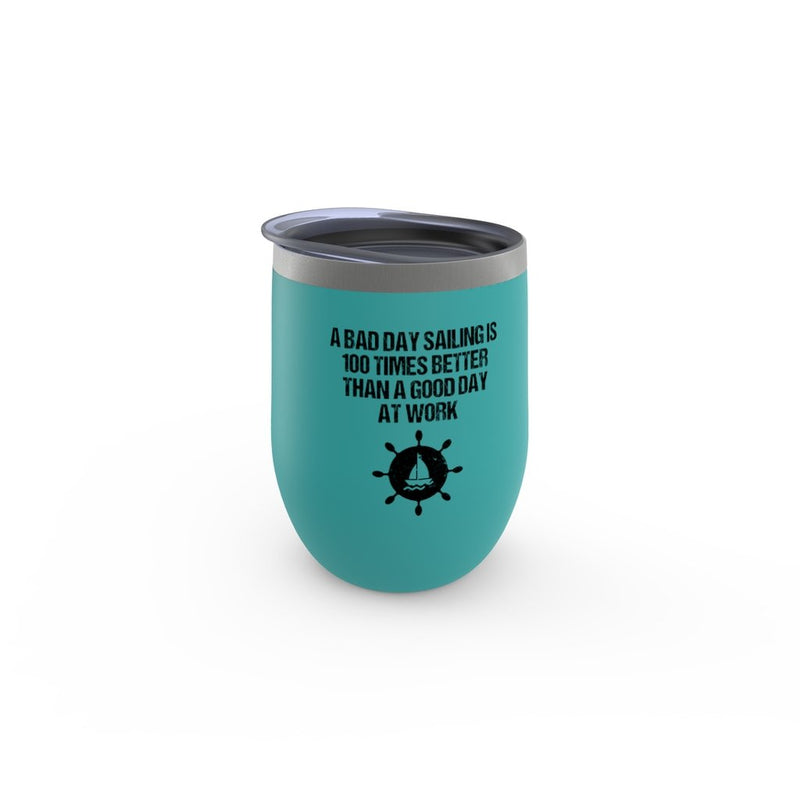 Stemless Wine Tumbler - A good day sailing Collection - SVlovers