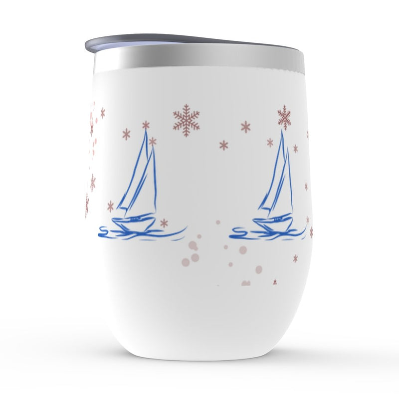Stemless Wine Tumbler - Christmas Winds - Christmas Collection - SVlovers